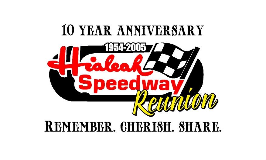 Hialeah Speedway Reunion Logo Clear